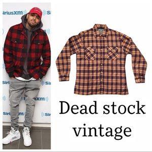 Vintage NWOT Bull Run plaid jacket